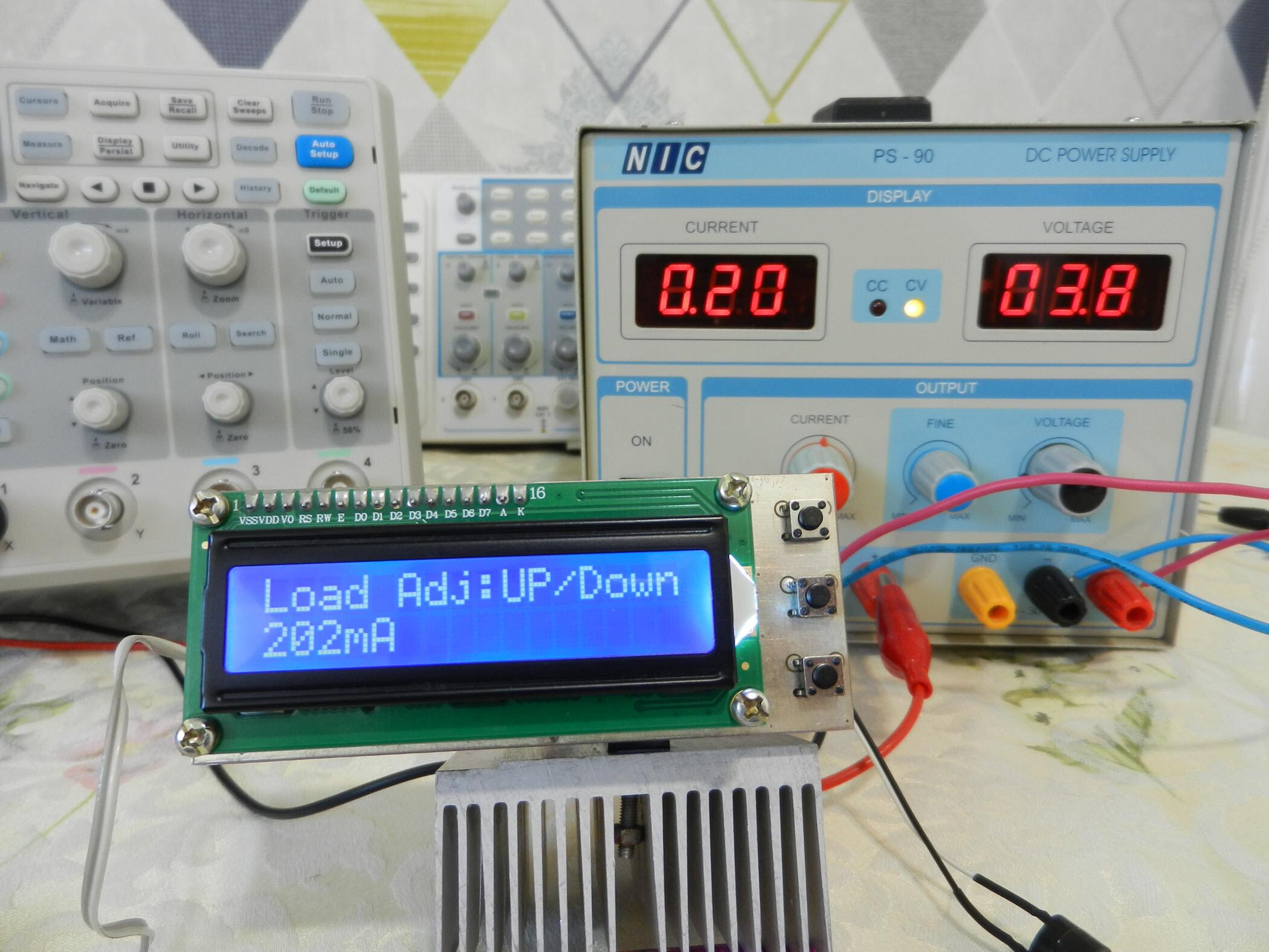 Battery Capacity Tester Using Arduino [Lithium-NiMH-NiCd]