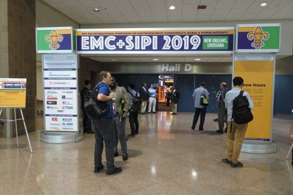 EMC SIPI exhibit hall