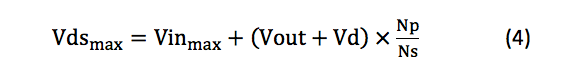maximum flat-top voltages for Q1 equation