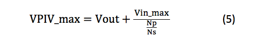 maximum flat-top voltages for D1 equation