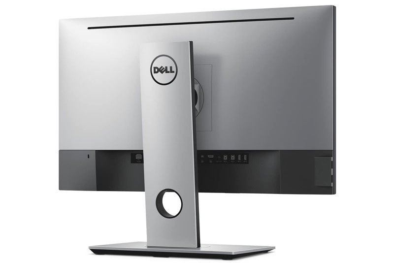 photo of the back of the Dell UP2516D display