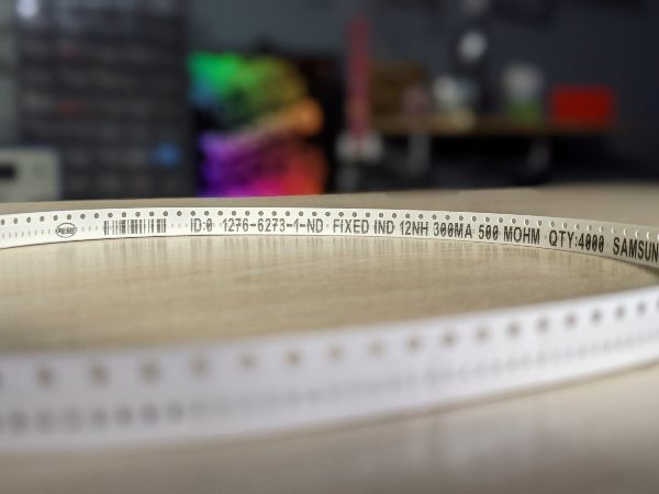 Digi-Key Electronics has launched an enhanced traceability feature called Part Tracing for printing information to appear directly on cut tape products.