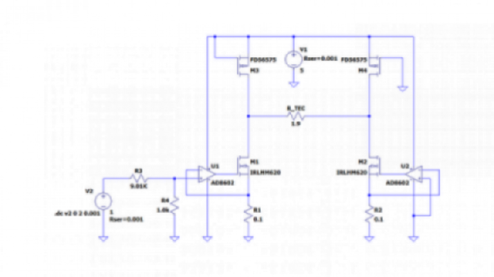 Increase The Efficiency Of A Low Noise Analog Te Cooler Driver Edn Asia